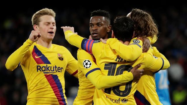 Barcelona knokt zich ondanks record Mertens naar gelijkspel bij Napoli in CL