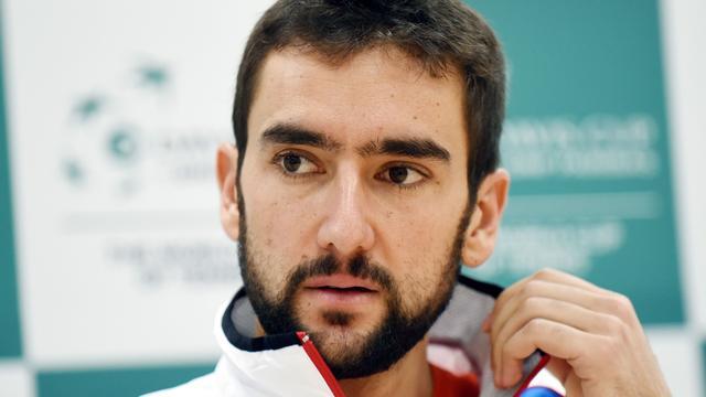 Cilic opent Davis Cup-finale tegen Delbonis