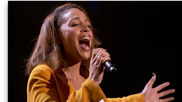 Glennis Grace zingt Nothing Compares 2 U bij America's Got Talent