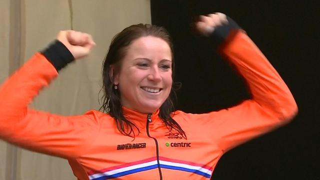 Van Vleuten derde Nederlandse die wereldtitel wint op tijdrit