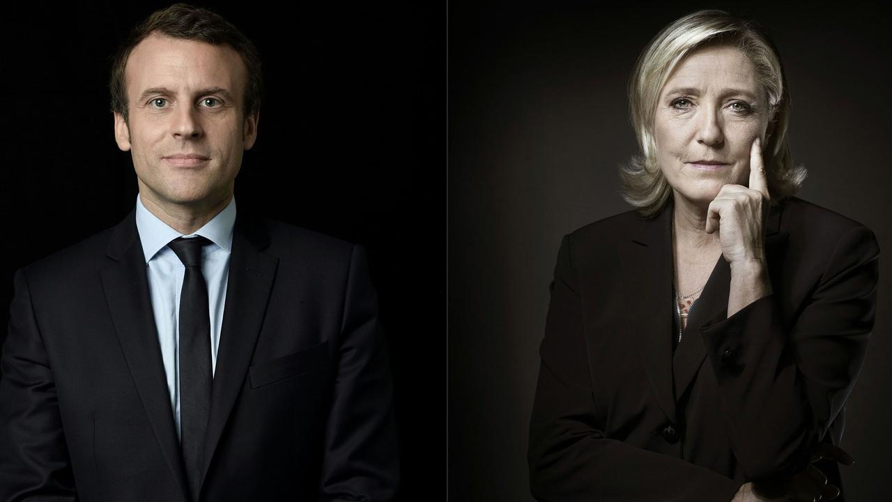 Macron en Le Pen: Wie zijn deze Franse presidentskandidaten?