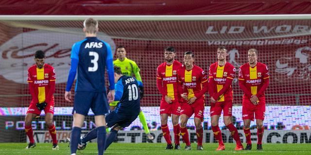 Go Ahead lijdt thuis tegen laagvlieger Jong AZ vijfde nederlaag van seizoen