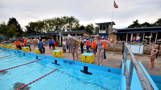 Laatste kans op deelnemen Leidse Zwemvierdaagse