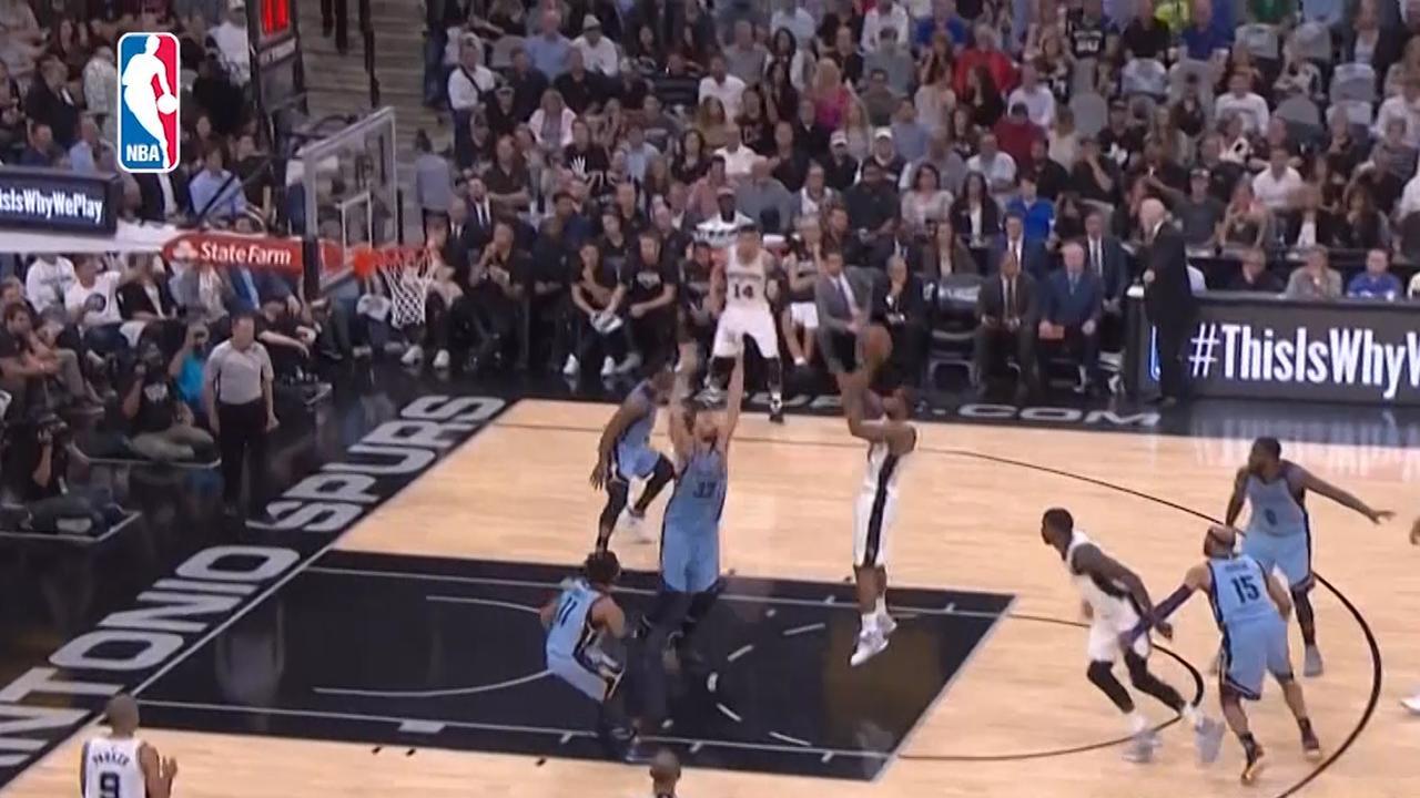 Samenvatting: Spurs-Grizzlies (96-82)