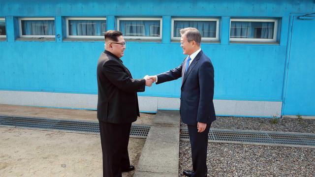 'Noord- en Zuid-Korea zetten nieuwe stap richting vrede'