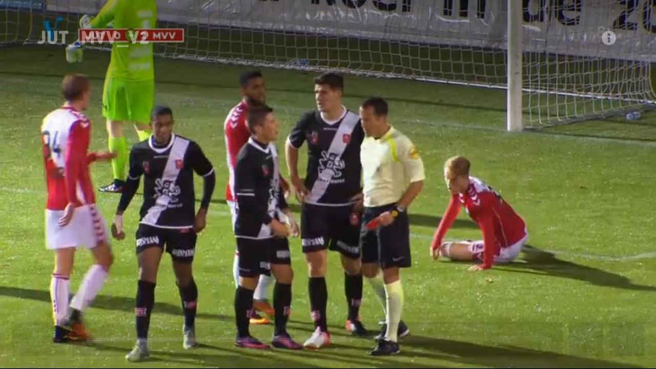 Samenvatting Jong FC Utrecht - MVV Maastricht