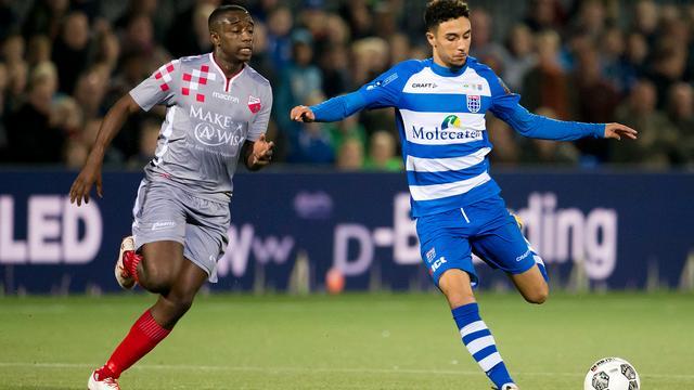 Samenvatting PEC Zwolle-Kozakken Boys (3-2)