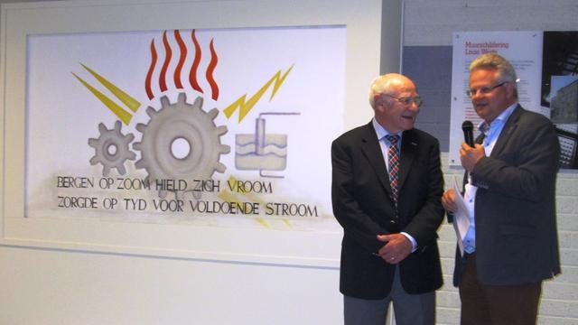 Muurschildering Bergen op Zoom gered van sloop