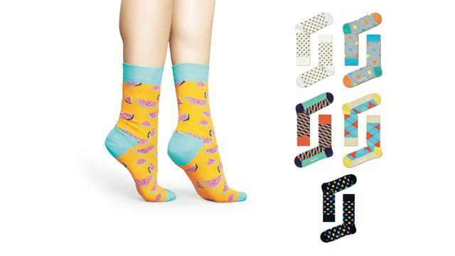Zo zien de vrouwen Happy Socks eruit