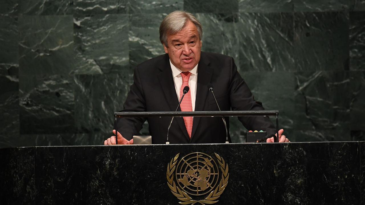 Antonio Guterres beëdigd als secretaris-generaal VN
