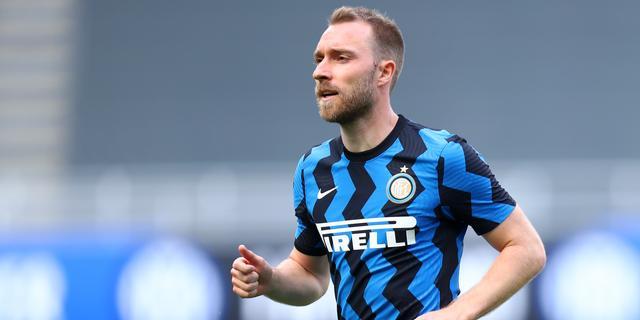 Eriksen meldt zich bij Inter, nog geen duidelijkheid over toekomst