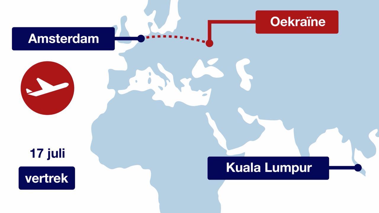 In zestig seconden: de MH17-ramp