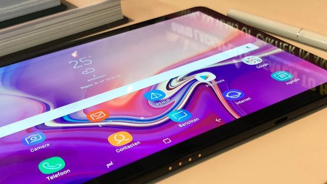 Samsung onthult nieuwe tablets met dunnere randen