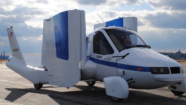 Terrafugia opent orderboeken voor vliegende auto