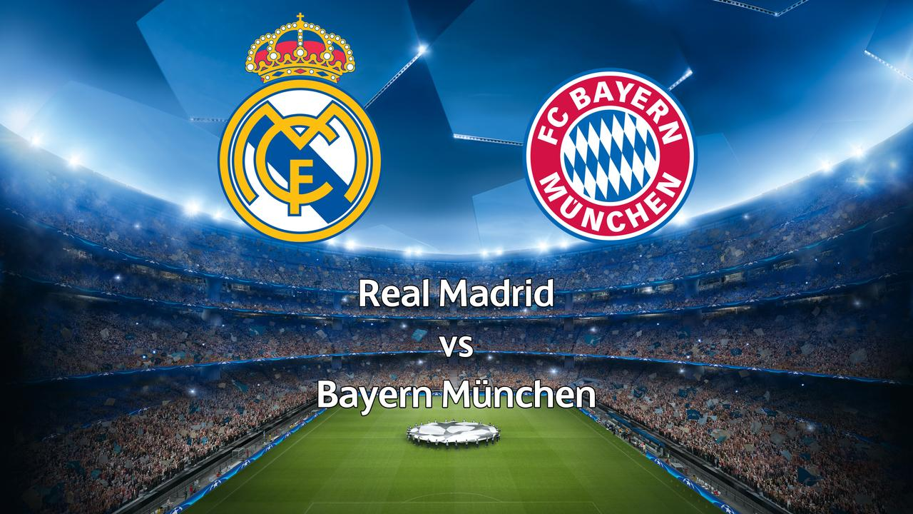 bayern münchen real madrid live