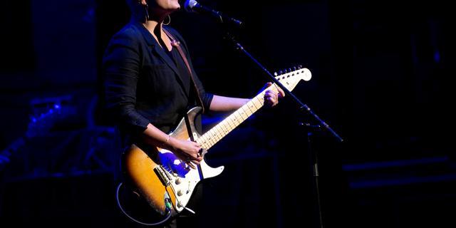 Dixie Chick-zangeres Natalie Maines ligt in echtscheiding