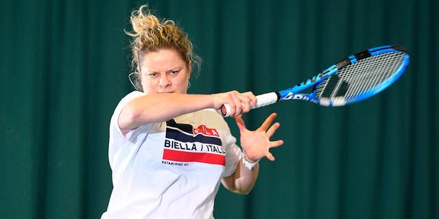 Clijsters (36) maakt over ruim een week rentree op WTA-toernooi Dubai