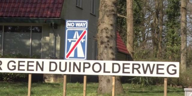 Provincie Noord-Holland zet streep door Duinpolderweg
