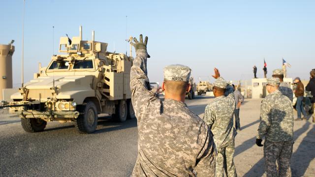 Twee Amerikaanse militairen gedood in Irak