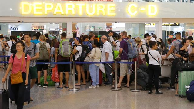 Luchthaven Bali weer open na vulkaanuitbarsting