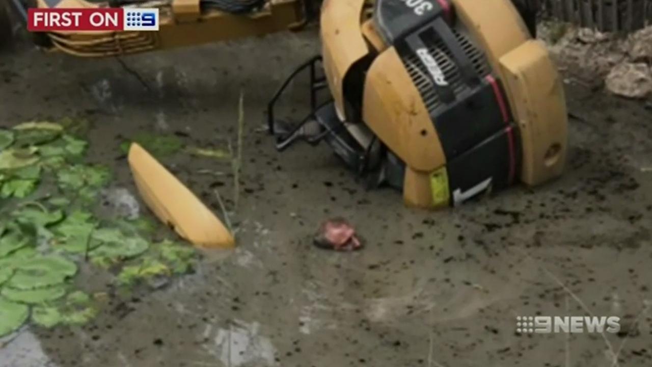 Australische man overleeft urenlang in waterput