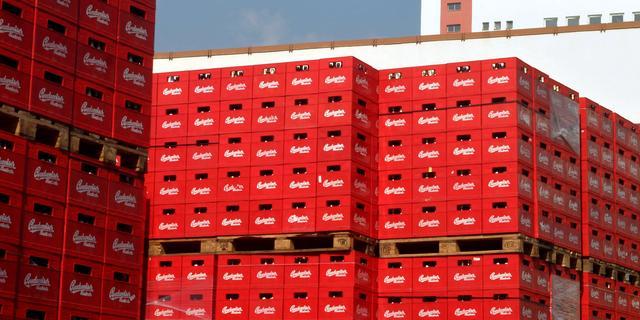 Vrachtwagen verliest duizenden liters bier op Belgische snelweg