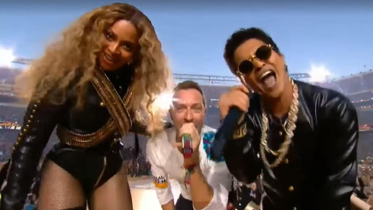 Beyoncé, Bruno Mars en Coldplay samen bij Super Bowl