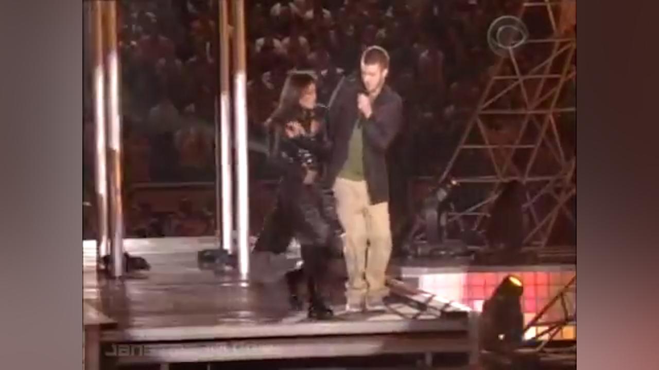 Optreden Justin Timberlake en Janet Jackson tijdens Superbowl 2004