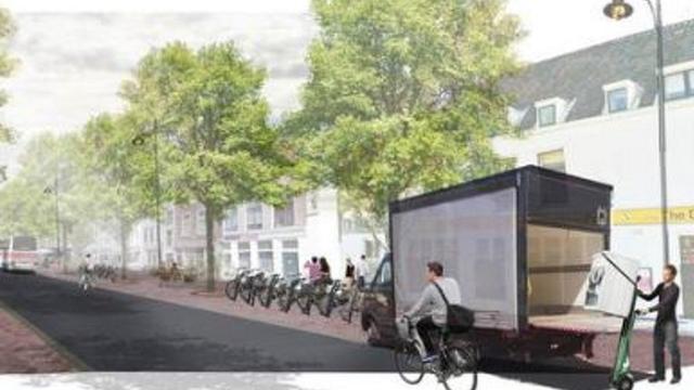 Bussen voorlopig in twee richtingen over Steenstraat