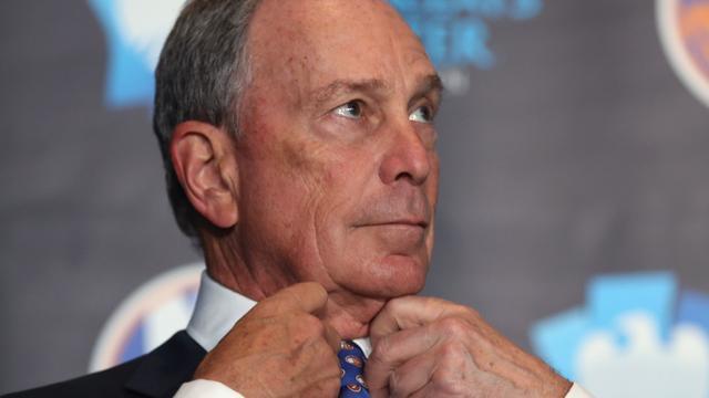 Oud-burgemeester Bloomberg steunt Clinton