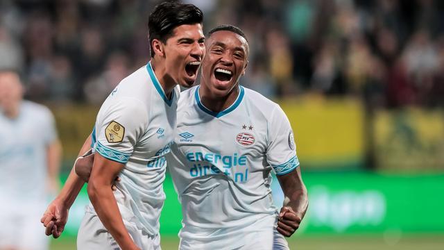 PSV blijft zonder puntenverlies na zevenklapper bij ADO Den Haag