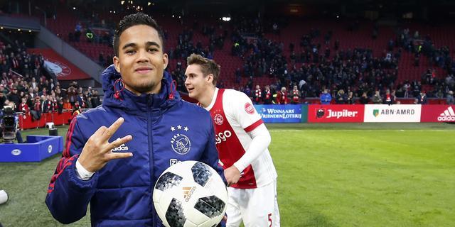 Kluivert hoopt na hattrick tegen Roda JC op vaste plek als linksbuiten
