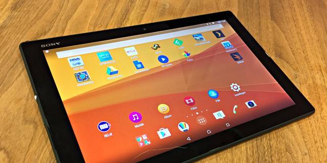 Review: Goede Xperia Z4 Tablet met teleurstellend prijskaartje