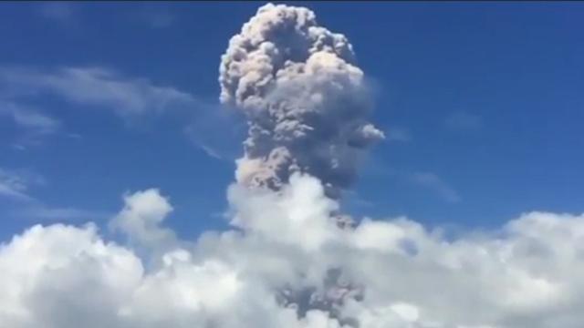 Enorme aswolk boven Filipijnen na nieuwe uitbarsting vulkaan