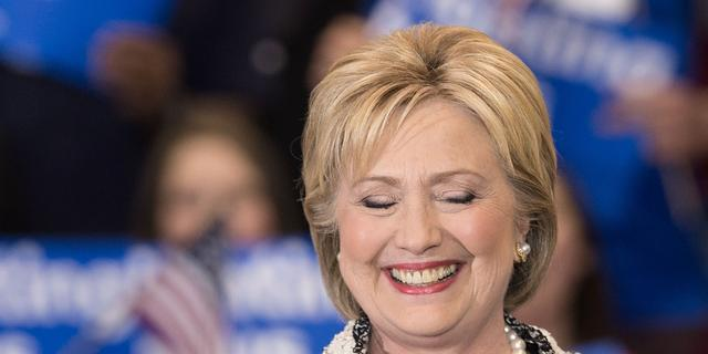 Clinton boekt overwinning bij voorverkiezing South Carolina