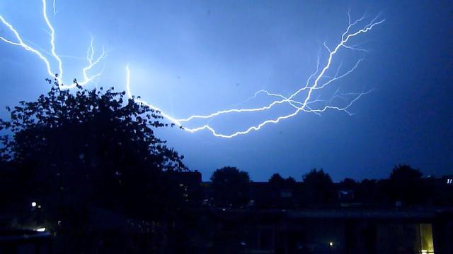Duitsland geteisterd door zware onweersbuien