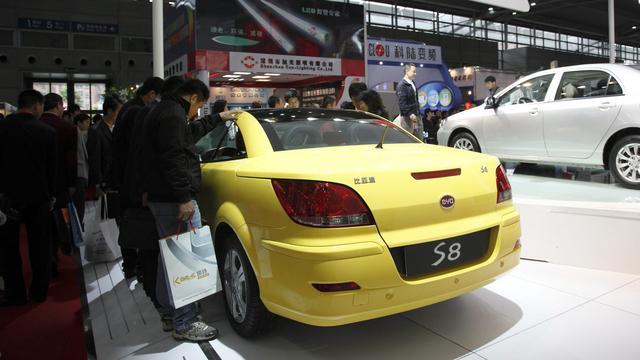 Investeren in Chinese auto-industrie wordt makkelijker