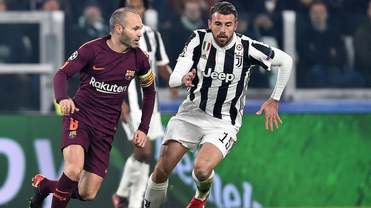 Samenvatting Juventus-Barcelona (0-0)