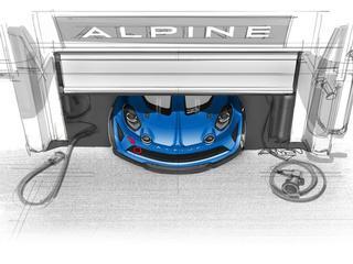 Alpine komt met een speciale raceversie van de retro A110
