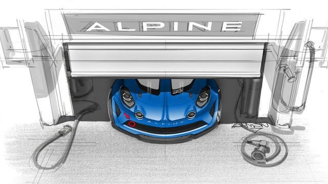 Alpine komt met raceversie van A110