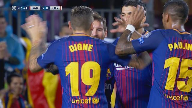 Digne beslist wedstrijd met eerste goal voor Barcelona