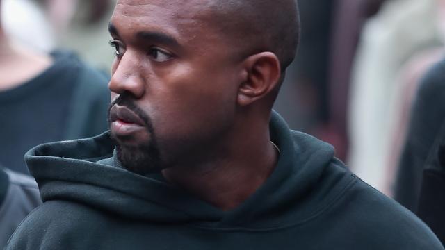 'Kanye West opgenomen in het ziekenhuis'