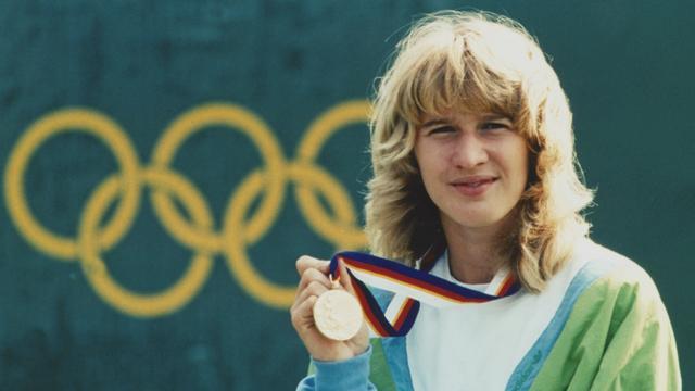 Steffi Graf won in 1988 alle vier de grote toernooien én olympisch goud.