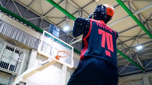 Basketballende robot verslaat professionals door kunstmatige intelligentie