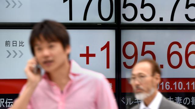 Beurzen Azië overwegend omlaag