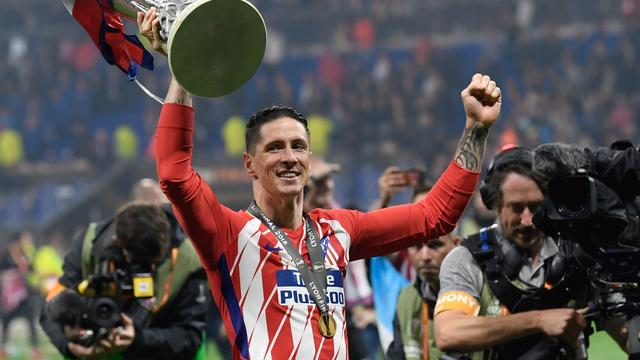 Atlético Madrid viert feest na winst Europa League