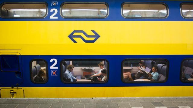 Politie-inval bij trein op Den Haag CS, niets verdachts aangetroffen