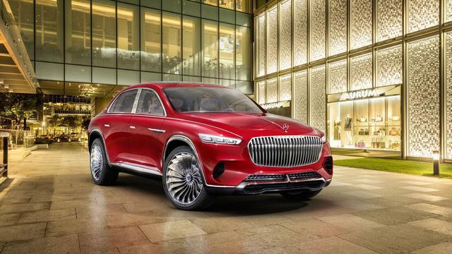 Mercedes-Maybach toont nieuwe carrosserievorm voor luxe SUV