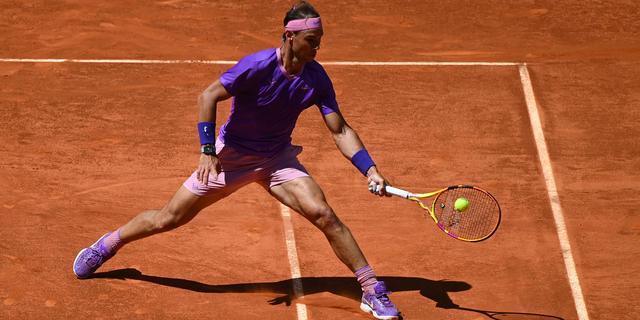 Nadal dringt zonder setverlies door tot kwartfinales bij Masters Madrid