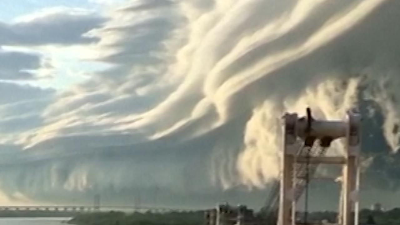 Spectaculaire wolkenformatie te zien boven Argentinië